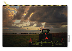 Tractor At Sunrise - Chester Nebraska Carry-all Pouch