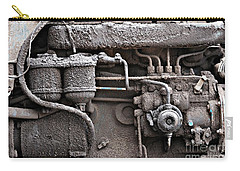 Tractor Engine II Carry-all Pouch by Stephen Mitchell