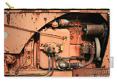 Tractor Engine V Carry-all Pouch by Stephen Mitchell
