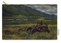 Tractor From Swan Valley Carry-all Pouch