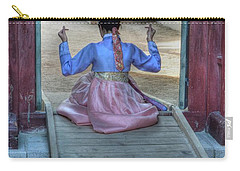 Traditional Clothes In Korea Carry-all Pouch