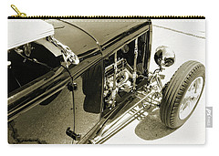 Traditional Roadster Bw Carry-all Pouch