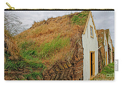 Traditional Turf Houses In Iceland Carry-all Pouch