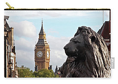 Trafalgar Square Lion With Big Ben Carry-all Pouch
