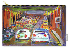 Traffic Jam Carry-all Pouch by Janet Garcia