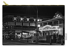 Traffic Light No 8 Gatlinburg In Black And White Carry-all Pouch