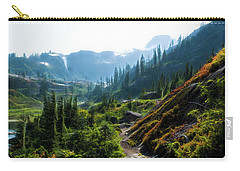 Trail In Mountains Carry-all Pouch