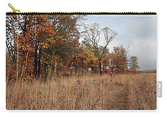 Trail Through The Autumn Prairie Carry-all Pouch