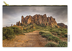 Trail To Superstitions 2 Carry-all Pouch