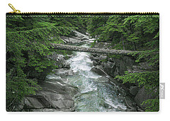Carry-all Pouch featuring the photograph Trail To The Falls by Crystal Hoeveler