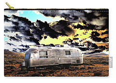 Carry-all Pouch featuring the photograph Trailer by Jim and Emily Bush