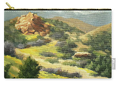 Trails Of Vasquez Canyon Carry-all Pouch