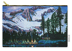 Trails West II Carry-all Pouch by Michael Frank