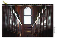 Train Car Interior Carry-all Pouch by Joseph Skompski