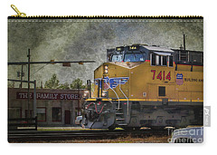 Train Coming Through Carry-all Pouch