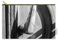 Carry-all Pouch featuring the photograph Train Door Handle by John Williams