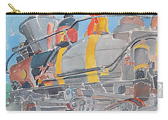 Train Engine Carry-all Pouch by Rodger Ellingson