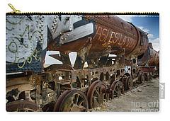 Train Graveyard Uyuni Bolivia 14 Carry-all Pouch
