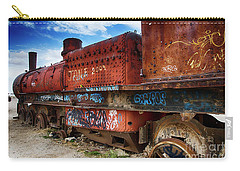 Train Graveyard Uyuni Bolivia 18 Carry-all Pouch