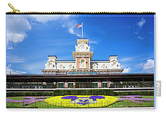 Carry-all Pouch featuring the photograph Train Station by Greg Fortier
