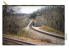 Train Tracks Across The New River - Radford Virginia Carry-all Pouch