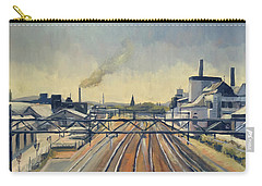 Train Tracks Maastricht Carry-all Pouch