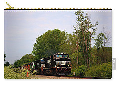 Trains On The Track-1 Carry-all Pouch