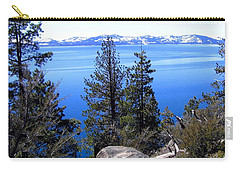 Tranquil Lake Tahoe Carry-all Pouch
