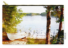 Tranquil River Carry-all Pouch by Shirley Stalter