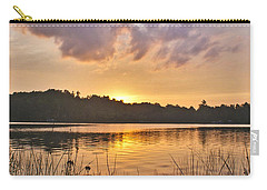 Tranquil Sunset On The Lake Carry-all Pouch