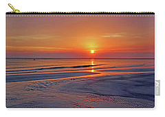Carry-all Pouch featuring the photograph Tranquility - Florida Sunset by HH Photography of Florida