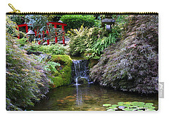 Tranquility In A Japanese Garden Carry-all Pouch