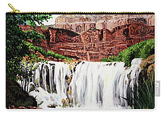 Tranquility In The Canyon Carry-all Pouch