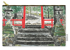 Tranquility Torii Carry-all Pouch