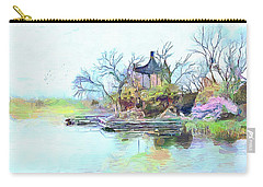 Tranquility Carry-all Pouch by Wayne Pascall
