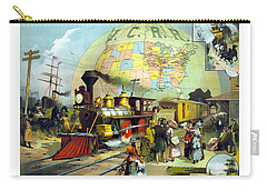Railway Paintings Carry-All Pouches