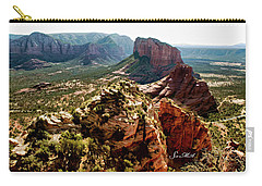 Transept Mountains 04-089 Carry-all Pouch by Scott McAllister