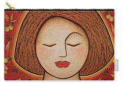 Carry-all Pouch featuring the mixed media Transformation by Gloria Rothrock