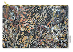 Carry-all Pouch featuring the mixed media Transformation by Joanne Smoley