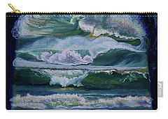 Transformed By God-waves Of Glory Carry-all Pouch
