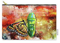 Carry-all Pouch featuring the digital art Transformed By The Truth by Dolores Develde