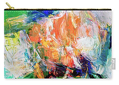 Carry-all Pouch featuring the painting Transformer by Dominic Piperata