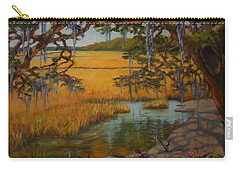 Carry-all Pouch featuring the painting Transition  by Dorothy Allston Rogers
