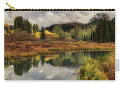 Carry-all Pouch featuring the photograph Transition by OLena Art Brand