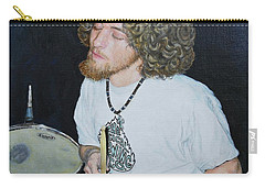 Transported By Music Carry-all Pouch by Michele Myers