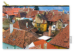 Transylvania Rooftops Carry-all Pouch