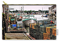 Traps Portland Maine Carry-all Pouch by Tom Prendergast