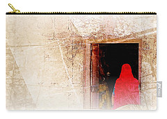 Travel Exotic Women Portrait Mehrangarh Fort India Rajasthan 1a Carry-all Pouch