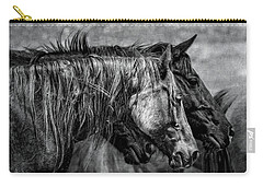Travel Worn Carry-all Pouch by Joan Davis