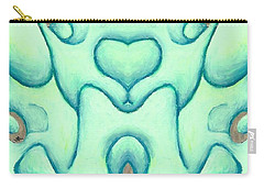 Travels Of The Mind Carry-all Pouch by Versel Reid
